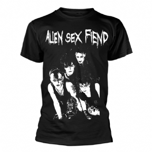 Band Photo 1983 Alien Sex Fiend Mens T-shirt